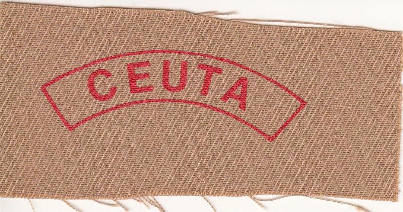Distintivo de Ciudad, Ceuta