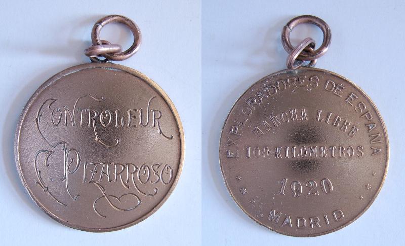 Marcha libre de 100 km - Madrid - 1920