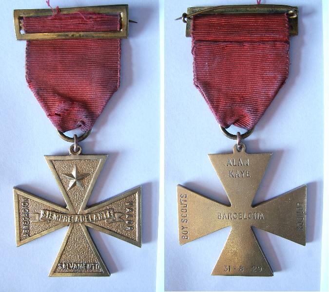 Medalla a la Abnegación - Bronce -1929