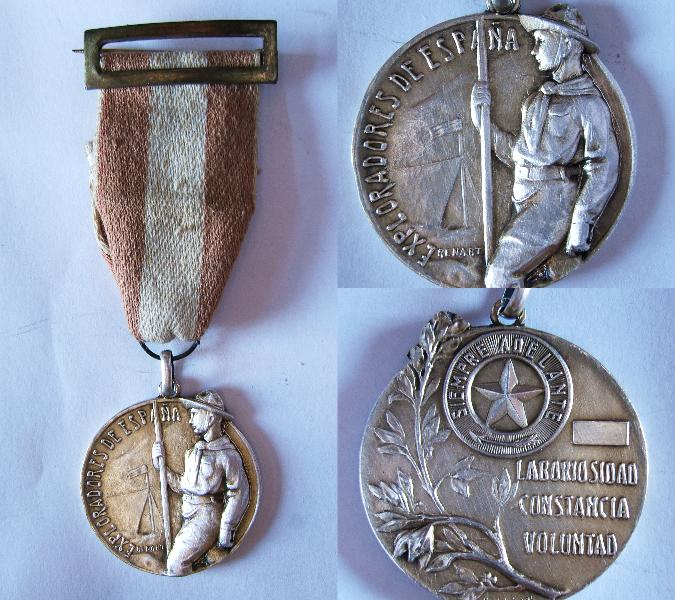 Medalla a la Laboriosidad, Constancia y Voluntad