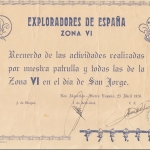 1976 Recuerdo San Jorge zona VI