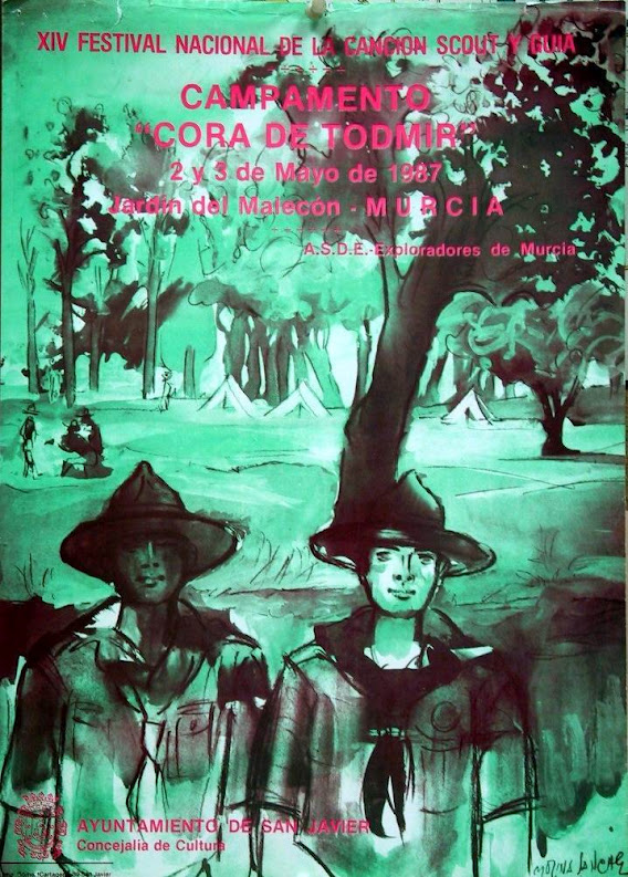 """1987 Campamento """"Cora de Todmir"""""""