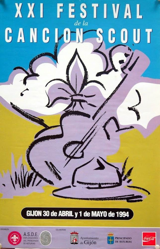 1994 Cartel Festival Canción Scout