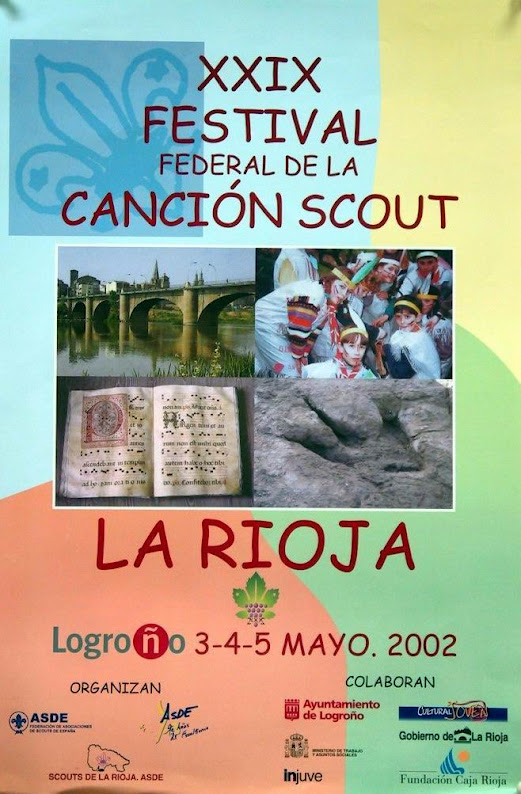 2002 Cartel Festival Canción Scout