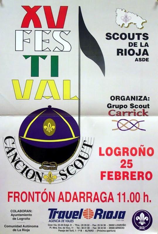 1996 Cartel Festival de la Canción de La Rioja