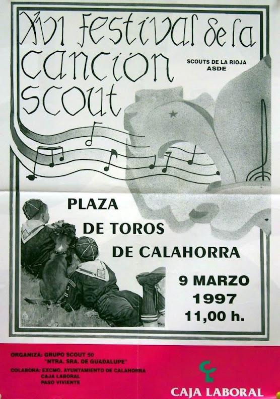 1997 Cartel Festival de la Canción de La Rioja