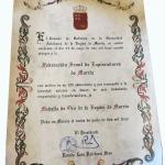 Concesión Medalla de Oro de la Región a Exploradores de Murcia