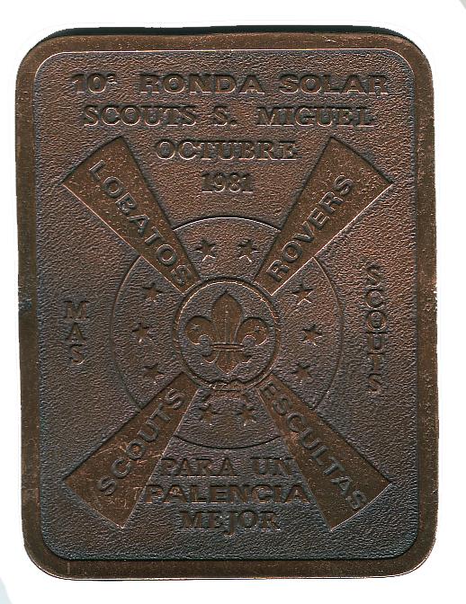 1981 Recuerdo Grupo Scout San Miguel 337