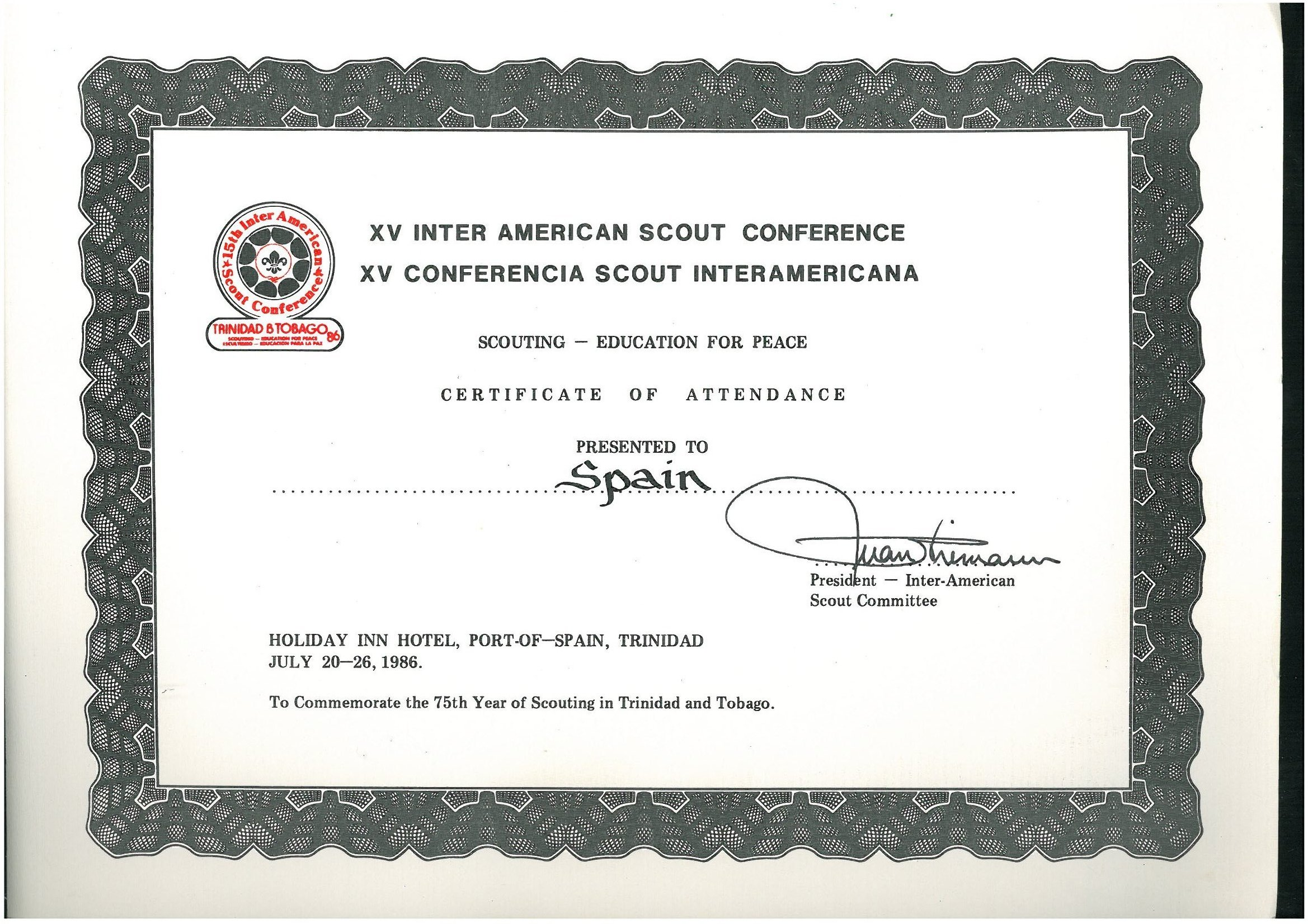 XV Conferencia Scout Interamericana