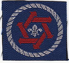 1990 Distintivo Progresión Sección Scout