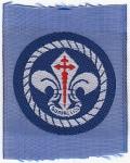1990 Distintivo Sección Scout