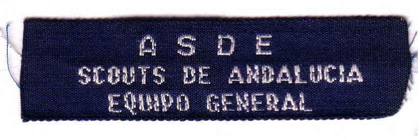 Scouts de Andalucía Equipo General (1990-2006)