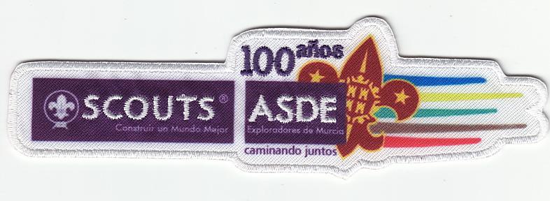 100 años caminando juntos - Exploradores de Murcia